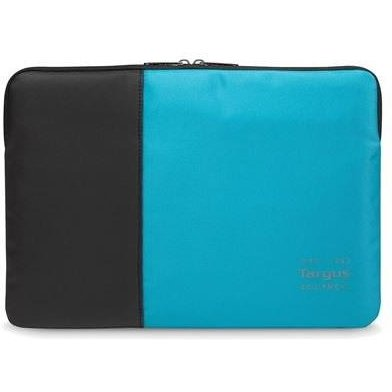 Pulse 11.6-13.3'' Laptop Sleeve Black and Atoll Blue