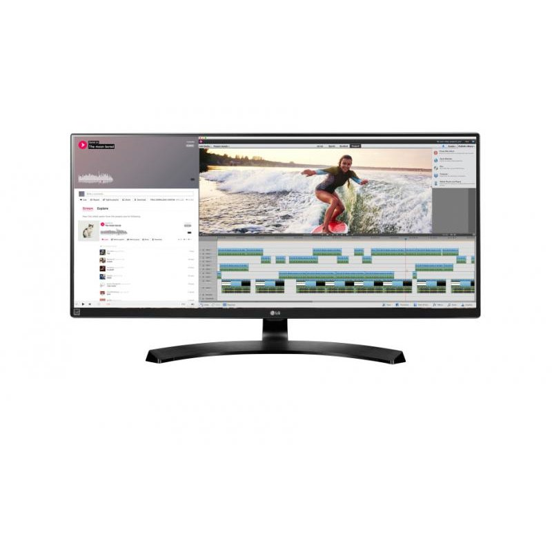 Monitor LED Gaming FreeSync 34UM88-P 34 inch 5 ms black