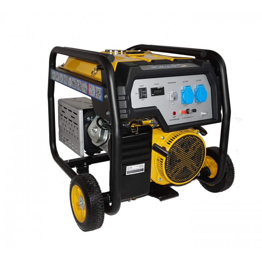 Generator Stager FD 6500E, open frame, 13 CP, 5.5 kW