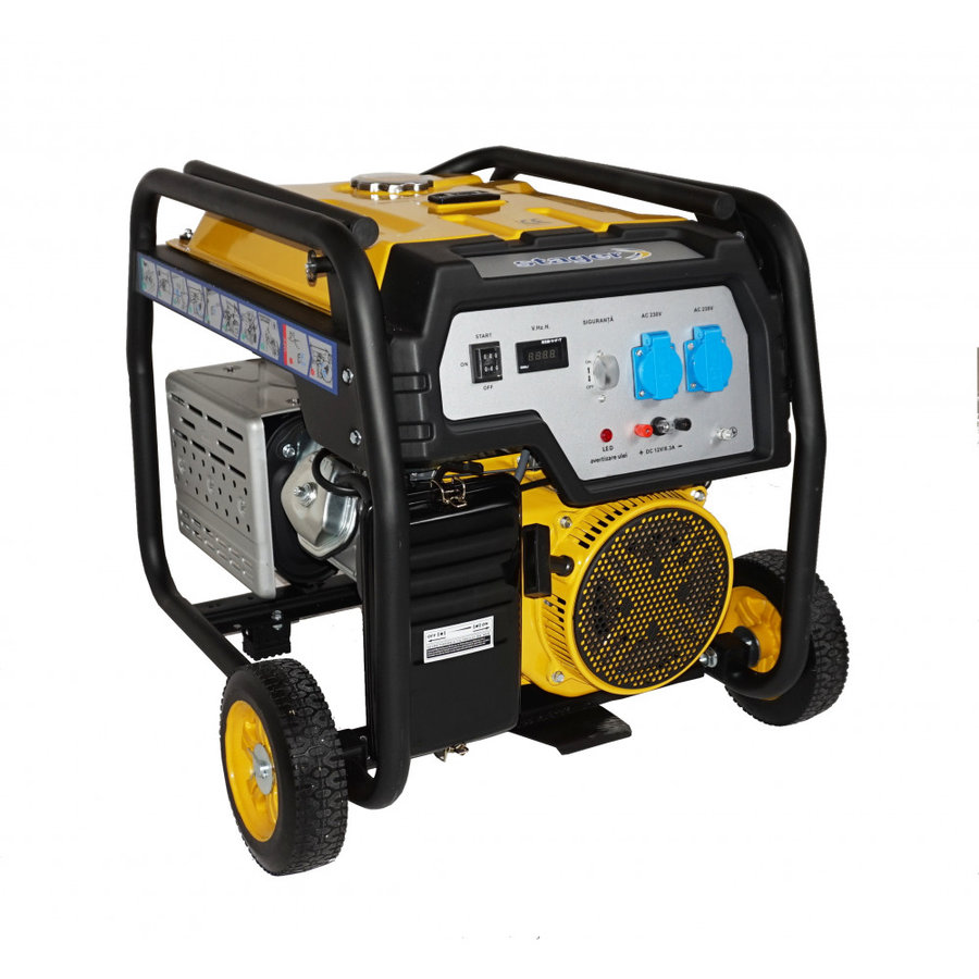 Generator Stager FD 7500E, open frame, 16 CP, 6.5 kW