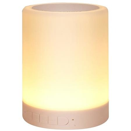 Boxa portabila LIGHTBOX BT TOUCH - Bluetooth Speaker with Touch Multicolor Lamp & MP3 Player