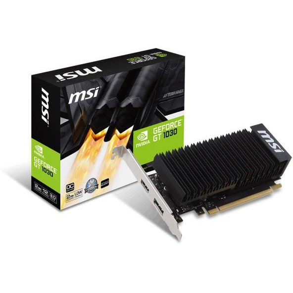 Placa video GeForce GT 1030 2GH LP OC 2GB DDR5 64-bit