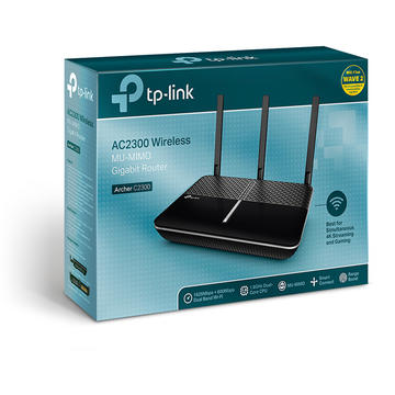 Router wireless TP-LINK Archer C2300 MU-MIMO Gigabit router USB 3.0