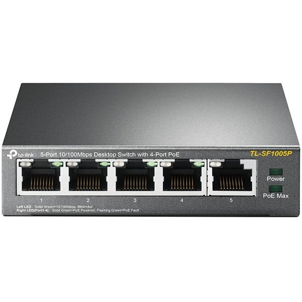 Switch TL-SF1005P 5-Port 10/100Mbps PoE
