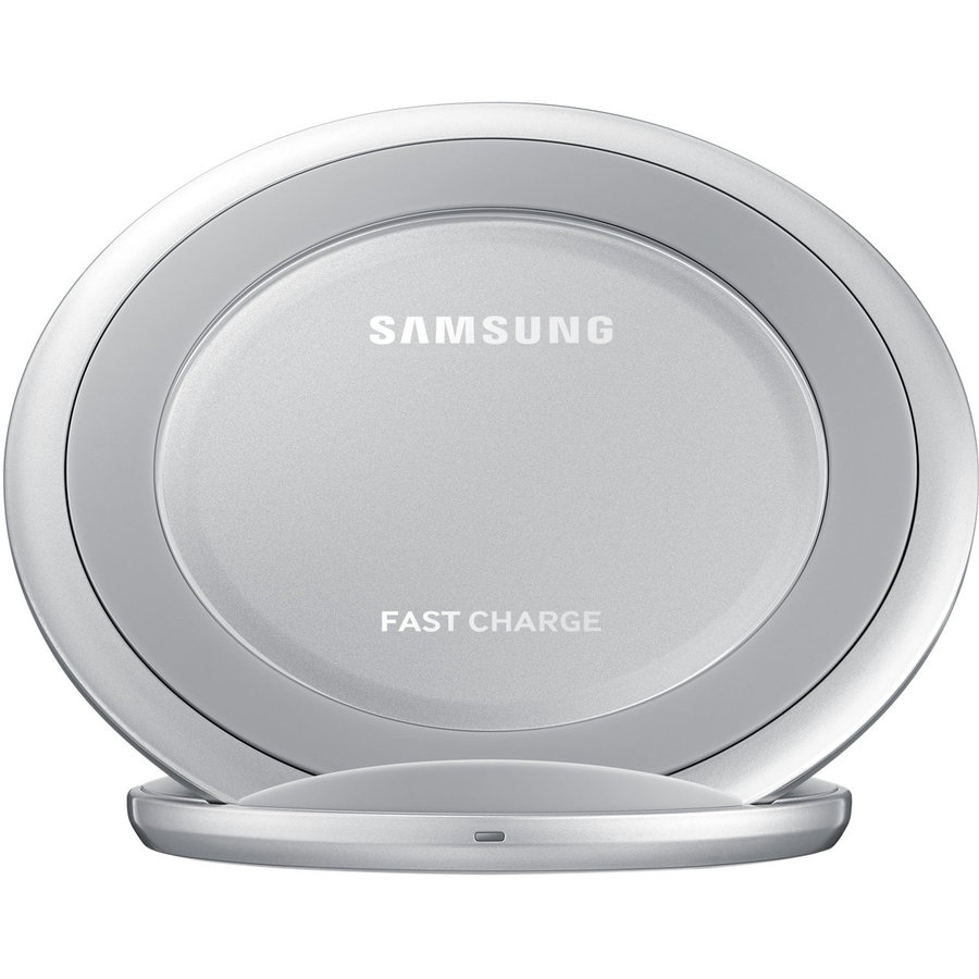 Wireless Charger Stand Silver