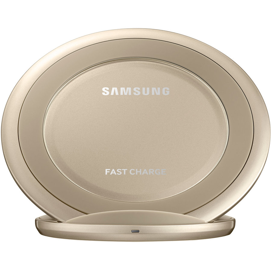 Wireless Charger Stand Gold