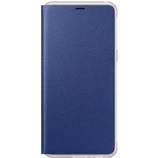Flip Cover Neon Galaxy A8 (2018) Blue