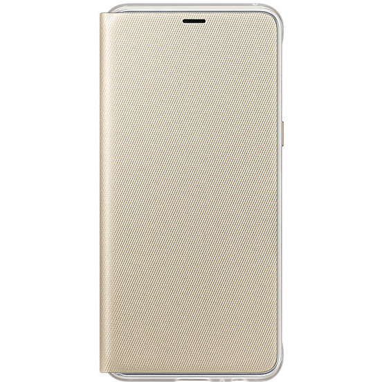 Flip Cover Neon Galaxy A8 (2018) Gold