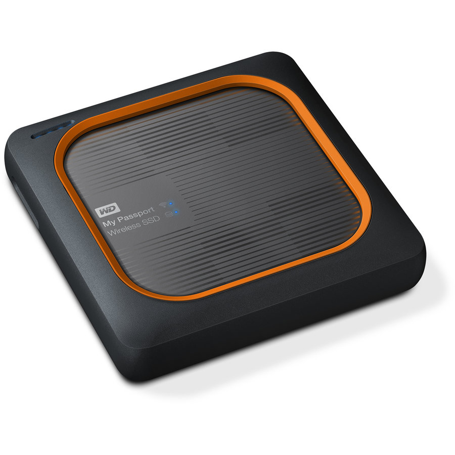 SSD Portable My Passport Wireless 2TB Argintiu