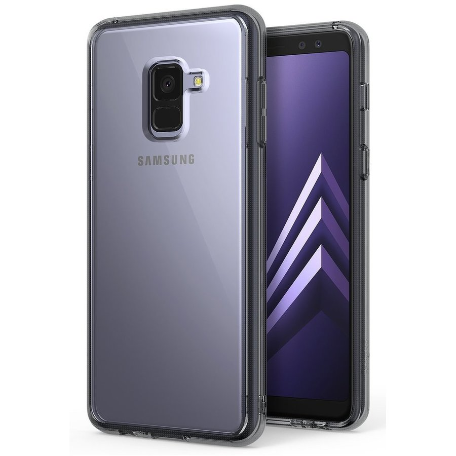 Husa Samsung Galaxy A8 Plus 2018 Ringke SMOKE BLACK