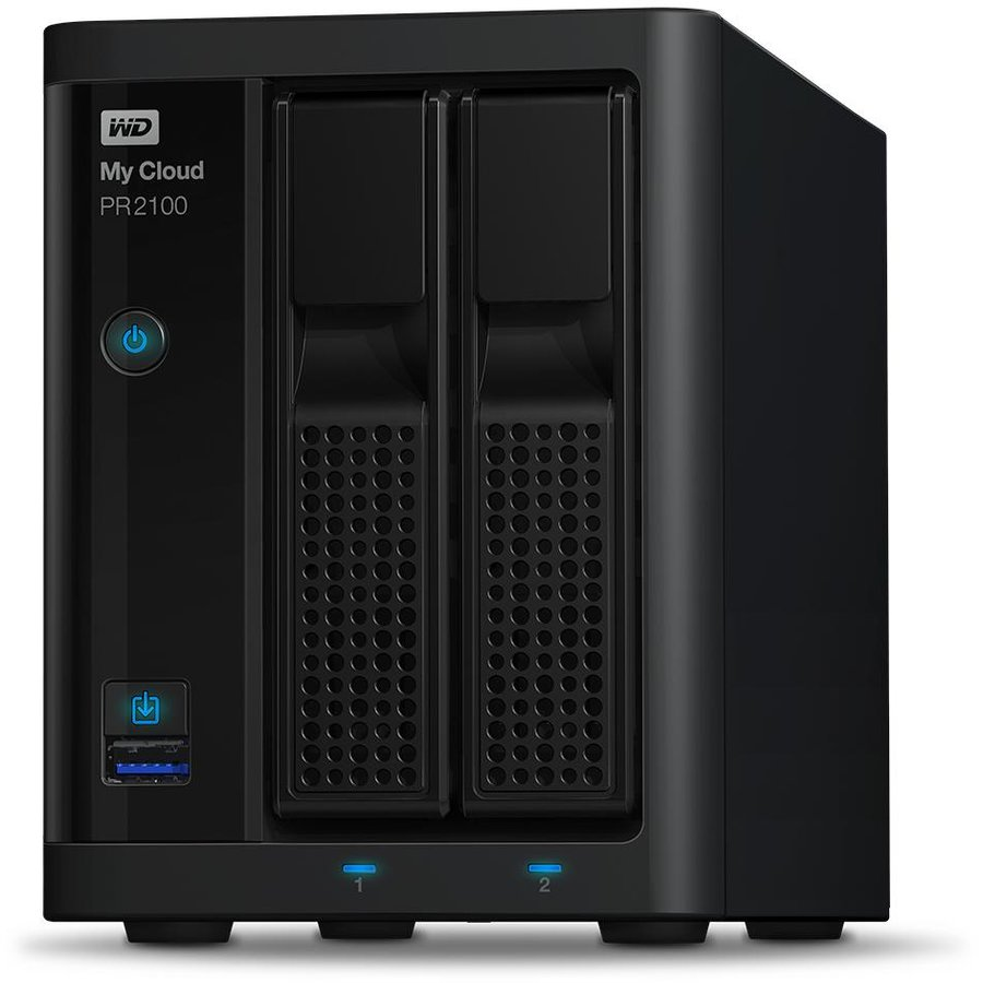 NAS My Cloud Pro Series PR2100 16TB 2xGbE LAN 2x USB 3.0