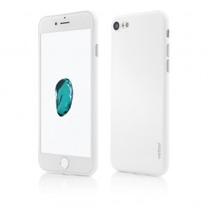 iPhone 8 7 | Clip-On | Ultra Thin Air Shiny Series | White