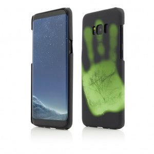 Samsung Galaxy S8 Plus | Clip-On Heat Sensitive | Color Changing | Black-Green