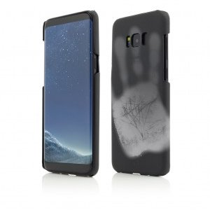 Samsung Galaxy S8 | Clip-On Heat Sensitive | Color Changing | Black-White
