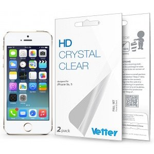 iPhone 5s 5 | Full Set | 2 pack | Vetter HD Crystal Clear
