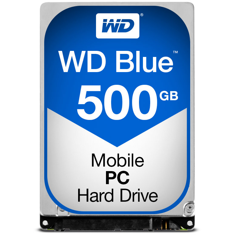 HDD Laptop Blue 500GB 5400RPM SATA3 16MB 2.5 thumbnail