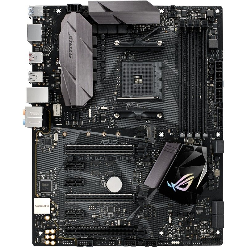 Placa de baza ROG STRIX B350-F GAMING socket AM4 4x DDR4 ATX