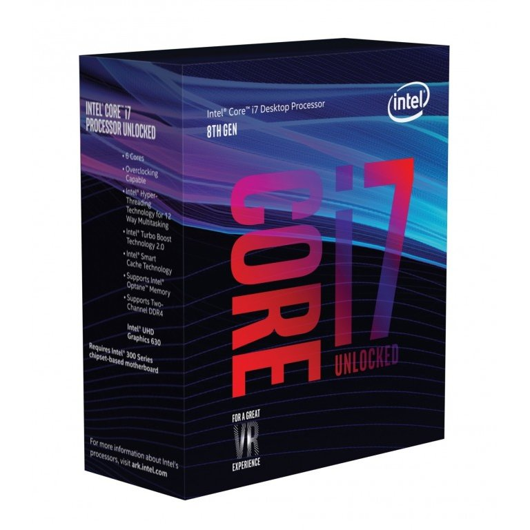 Procesor Intel Core i7-8700K, Coffe Lake, Hexa Core, 3.70GHz, 12MB, LGA1151v2, 14nm, BOX