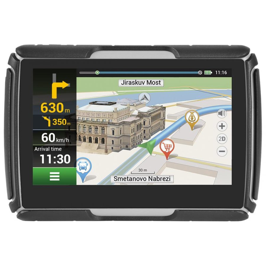 G550 MOTO GPS Navigation 4.3 inch FULL EU w/Bike holder