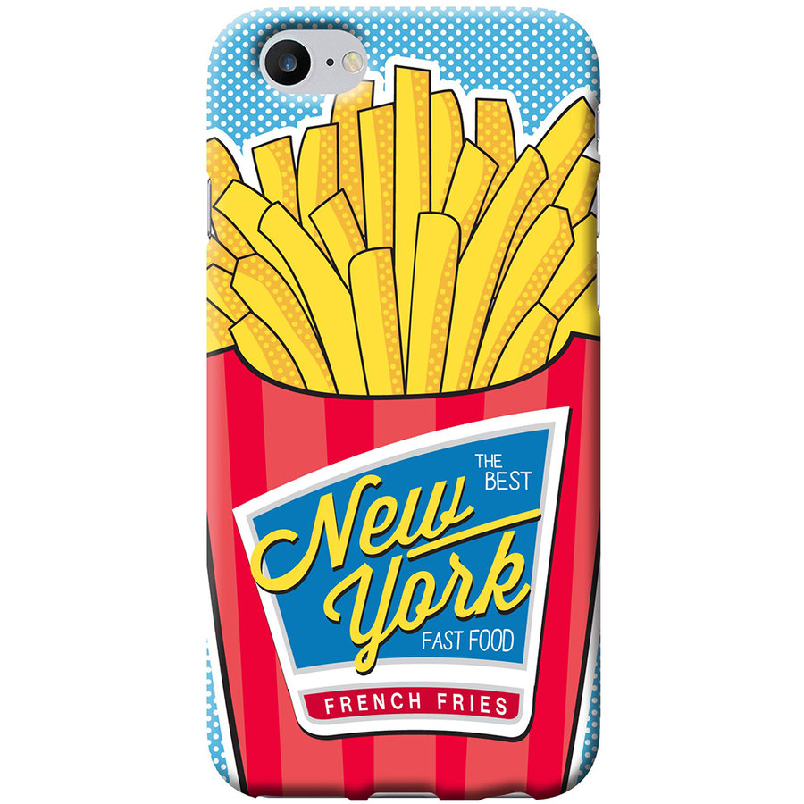Husa Capac Spate French Fries Apple iPhone 7, iPhone 8