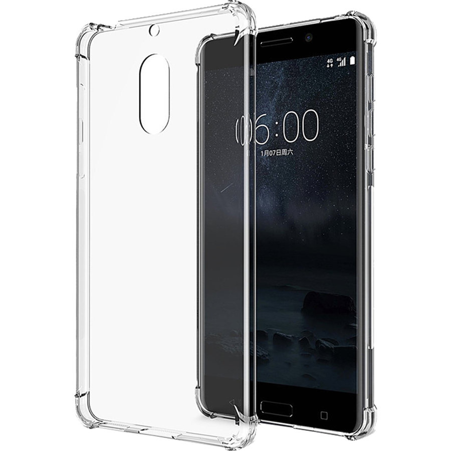 Husa Capac Spate Anti Shock 0.5 mm Transparent NOKIA 5