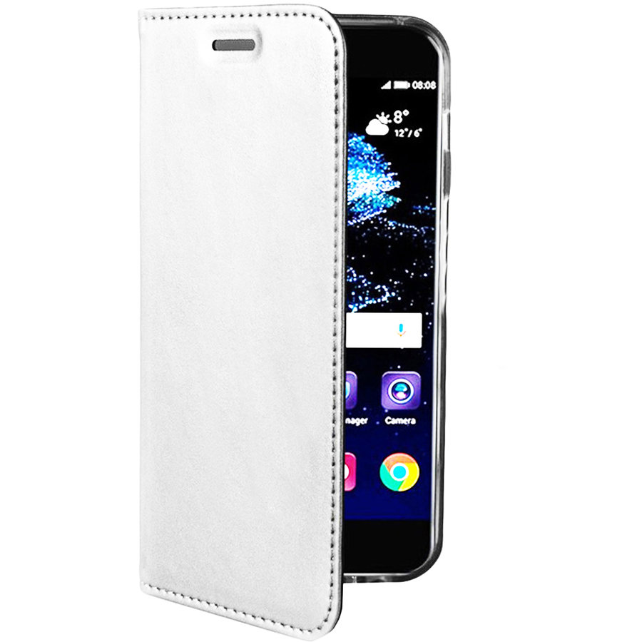 Husa Agenda Card Slot Alb SAMSUNG Galaxy S8 Plus