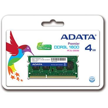 Memorie laptop 4GB DDR3L 1600MHz CL11 1.35V