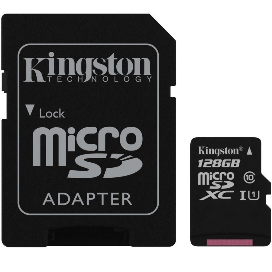 Card memorie Canvas Select 80R 128GB MicroSDXC Clasa 10 UHS-I + adaptor SD