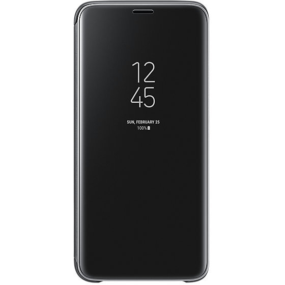 Galaxy S9 G960 Clear View Standing Cover Black