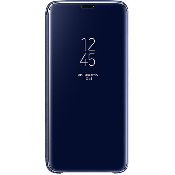 Galaxy S9 G960 Clear View Standing Cover Blue