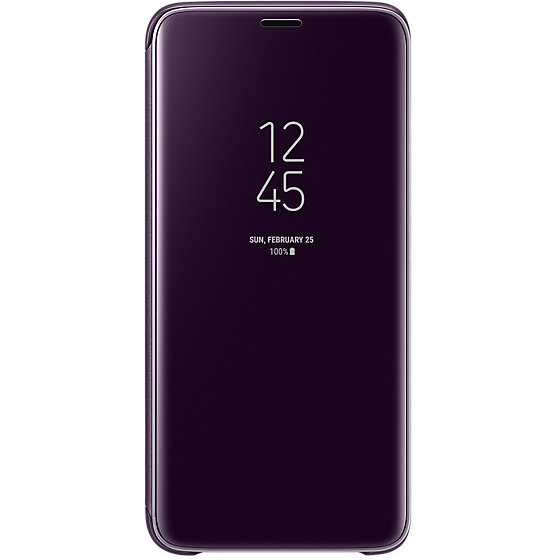 Galaxy S9 G960 Clear View Standing Cover Purple