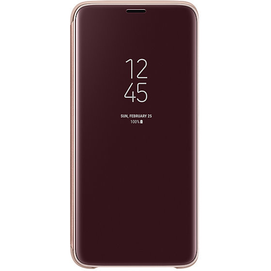 Galaxy S9 G960 Clear View Standing Cover Gold