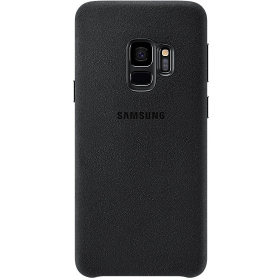 Galaxy S9 G960 Alcantara Cover Black