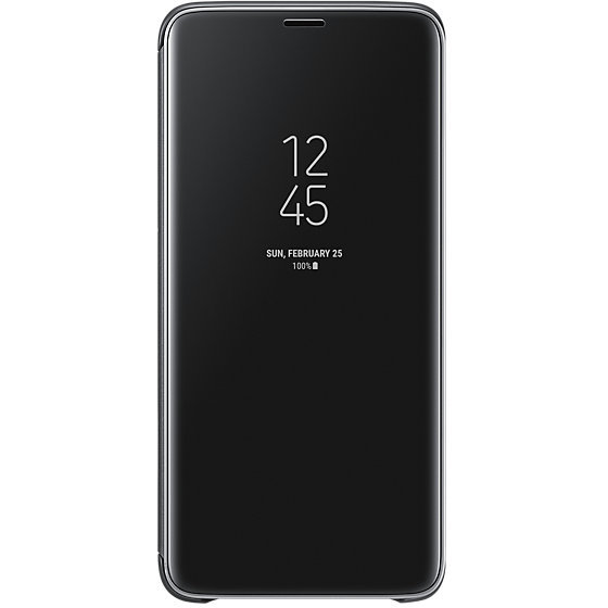 Galaxy S9 Plus G965 Clear View Standing Cover Black
