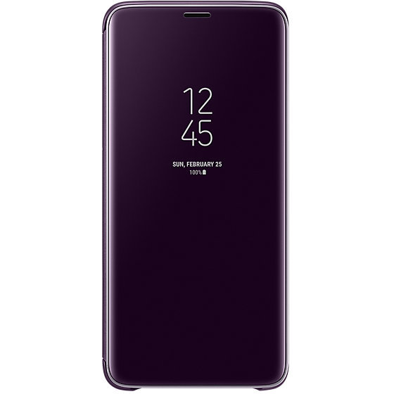 Galaxy S9 Plus G965 Clear View Standing Cover Purple