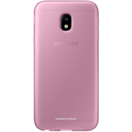 Galaxy J3 (2017) J330 Jelly Cover Pink