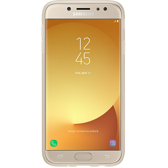 Galaxy J7 (2017) J730 Jelly Cover Gold
