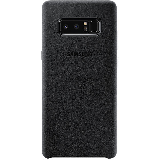 Galaxy Note 8 Alcantara Cover Black
