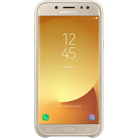 Galaxy J5 (2017) J530 Dual Layer Cover Gold Husa de protectie