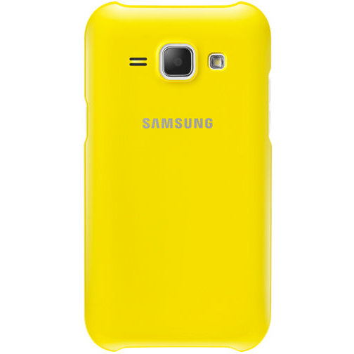Protective Cover Galaxy J1 Yellow