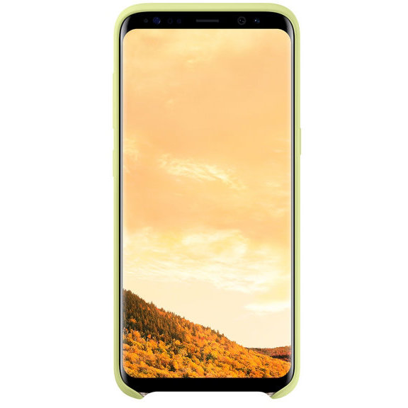 Galaxy S8 G950 Silicone Cover Green