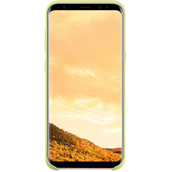 Galaxy S8+ G955 Silicone Cover Green