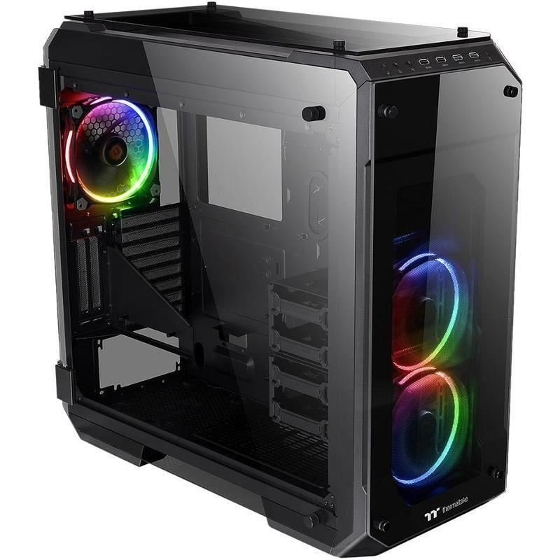 Carcasa View71 Tempered Glass RGB Edition