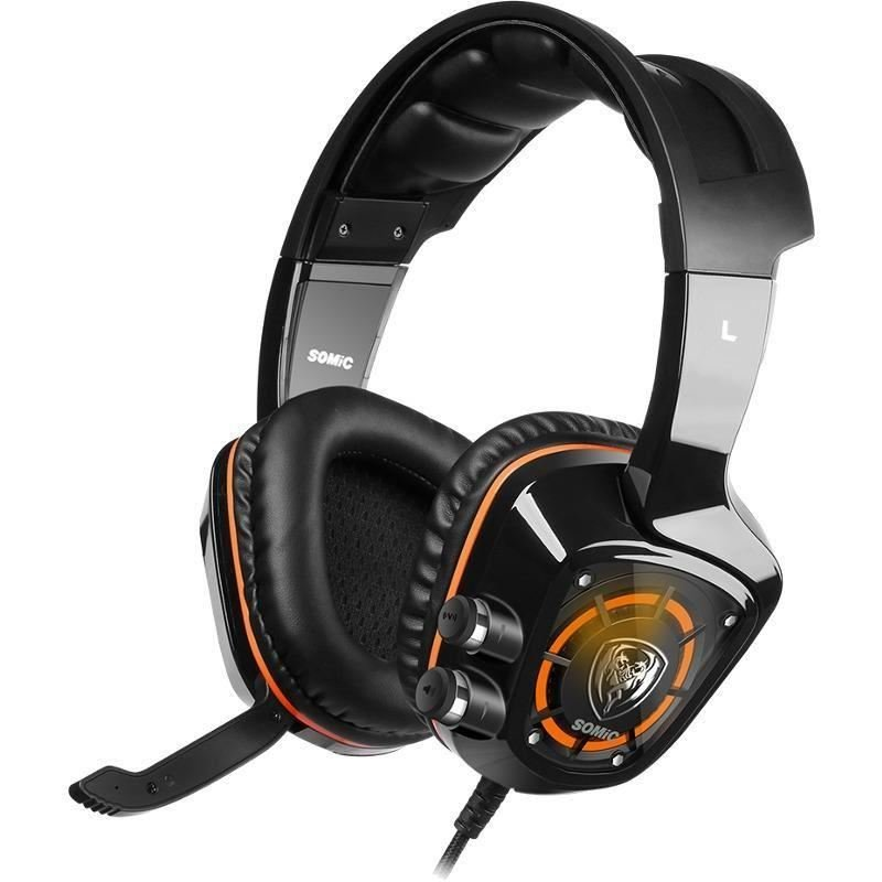 Casti G910 7.1 Surround Black