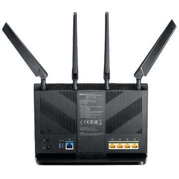 Router wireless Asus 4G-AC68U AC1900 Dual-Band 4G LTE