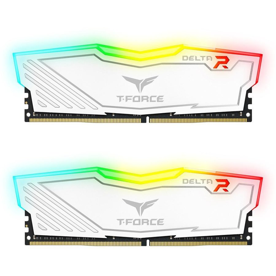 Memorie T-Force Delta RGB Dual Channel Kit 32GB (2x16GB) DDR4 2666MHz CL15 1.2V