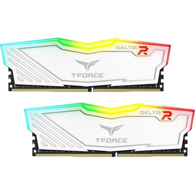 Memorie T-Force Delta RGB Dual Channel Kit 16GB (2x8GB) DDR4 2666MHz CL15 1.2V
