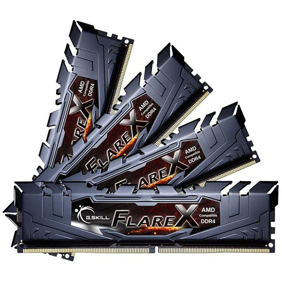 Memorie Flare X Quad Channel Kit 32GB (4x8GB) DDR4 3200MHz CL14 1.35v