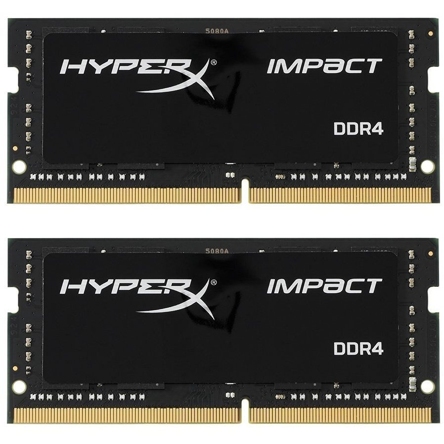 Memorie laptop HyperX Impact Dual Channel Kit 16GB (2x8GB) DDR4 2400MHz CL14 1.2v