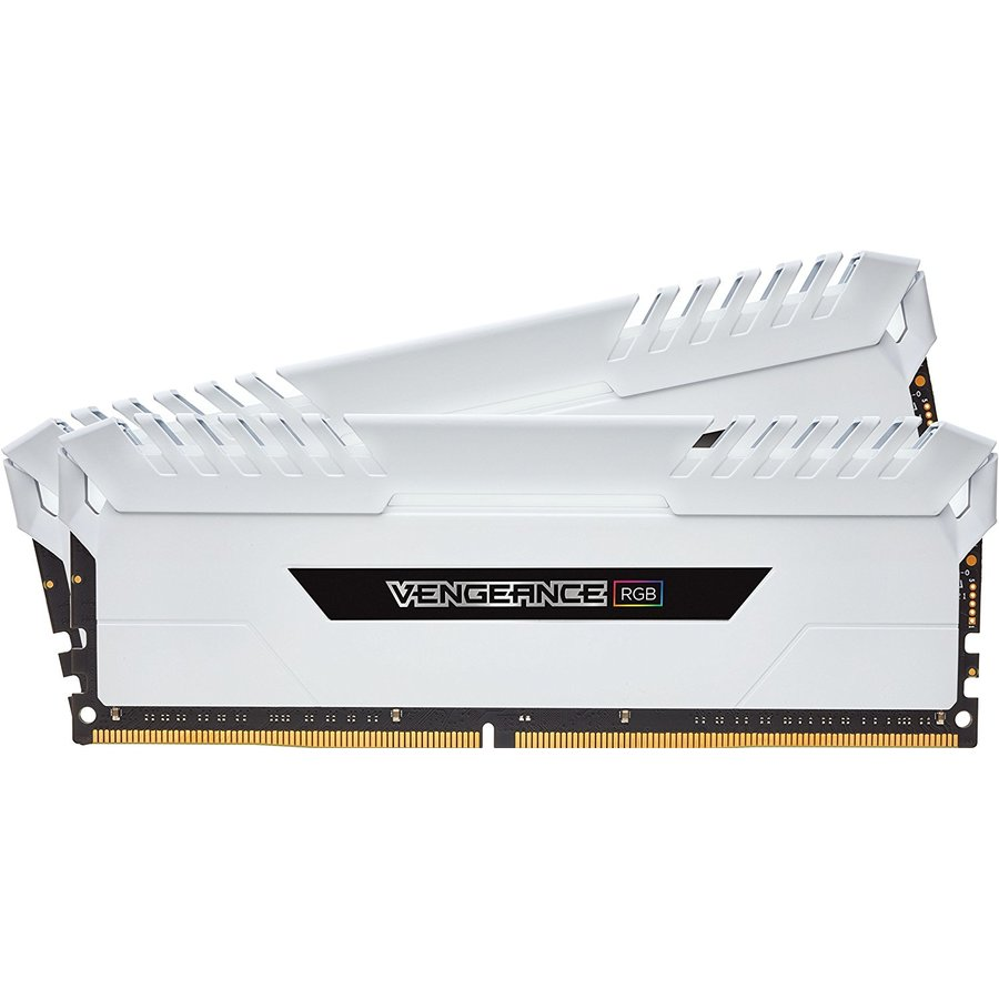 Memorie engeance RGB Dual Channel Kit 16GB (2x8GB) DDR4 3600MHz CL18 1.35v White